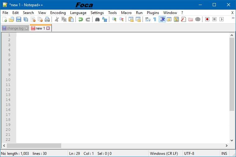 Notepad++ 7.8.4 + Portable [Multilenguaje] [Tres Servidores] 1502879210-notepad-pp