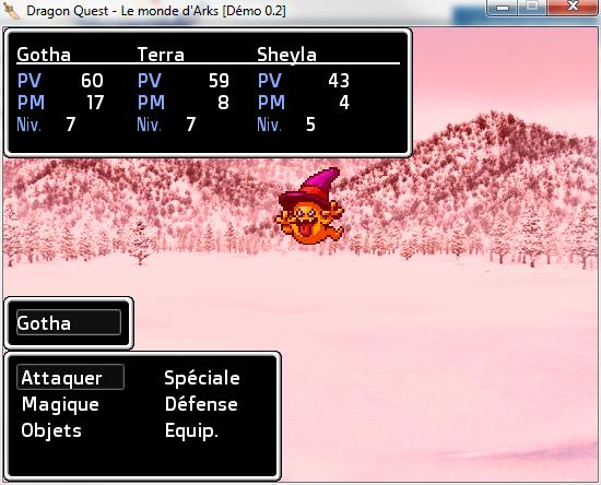 Dragon Quest - Le monde d'Arks (Démo 0.2) (02/08) 6