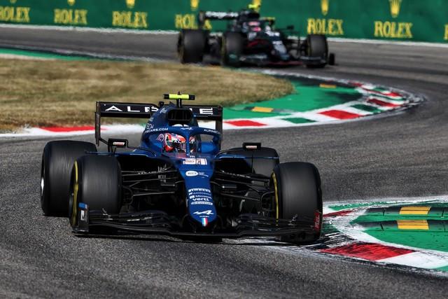 Alpine poursuit sa série d'entrées dans les points avec un double top dix à Monza Grand-Prix-d-Italie-2021-Alpine-A521-N31-Esteban-OCON-9