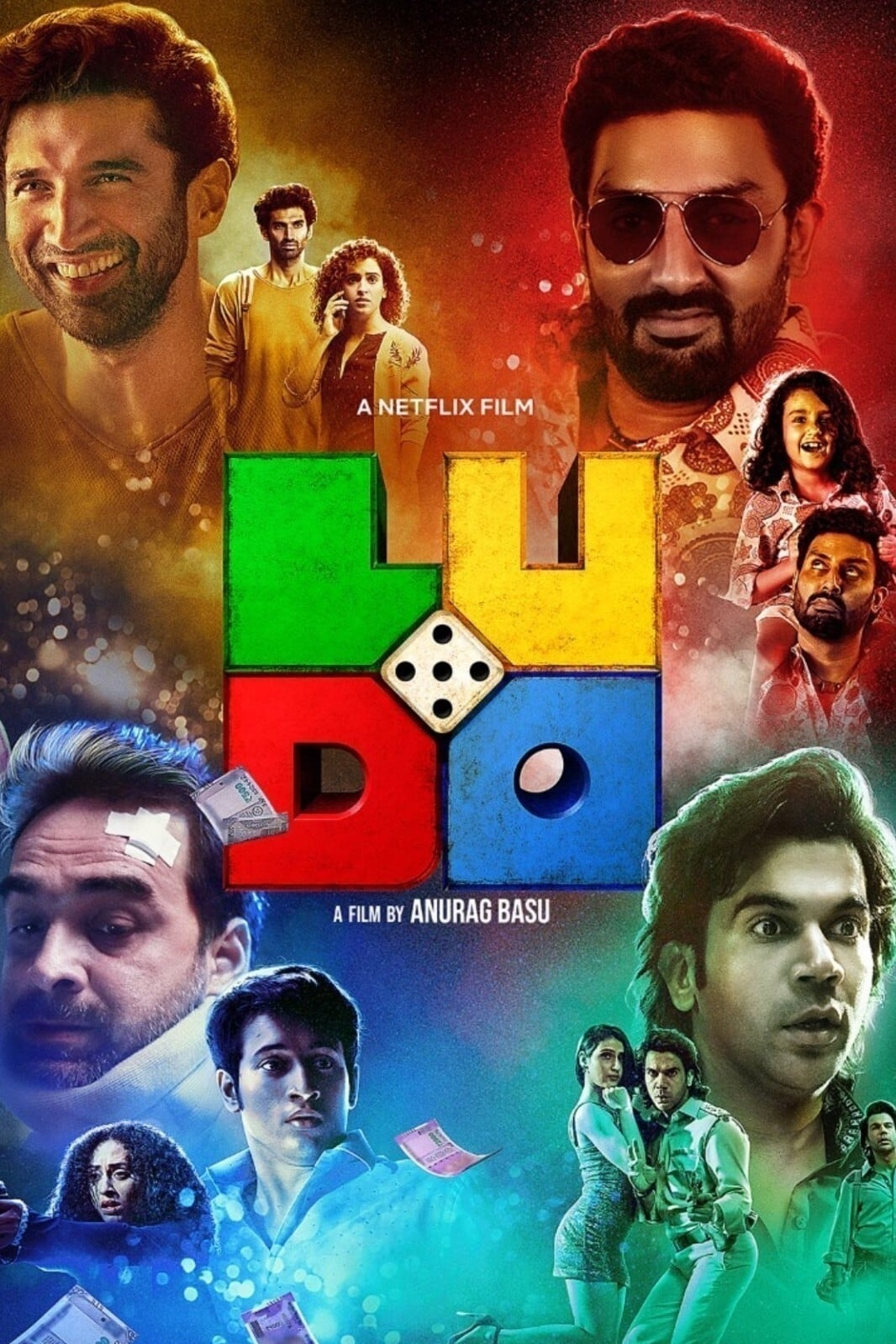 Ludo 2020 Hindi 720p NF HDRip ESubs 1GB | 450MB Download
