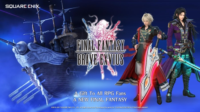 FINAL FANTASY BRAVE EXVIUS (MOD, Many Features)
