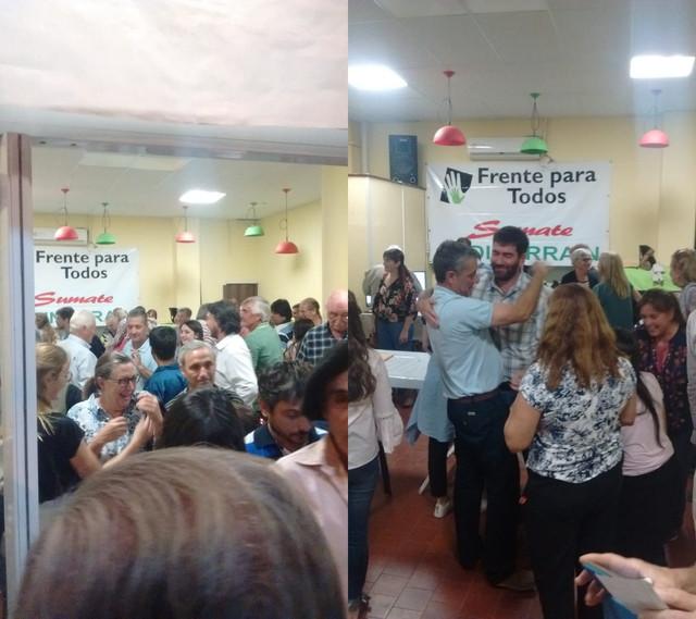 El Frente Para Todos se impuso por 180 votos en las P.A.S.O. en Urdinarrain