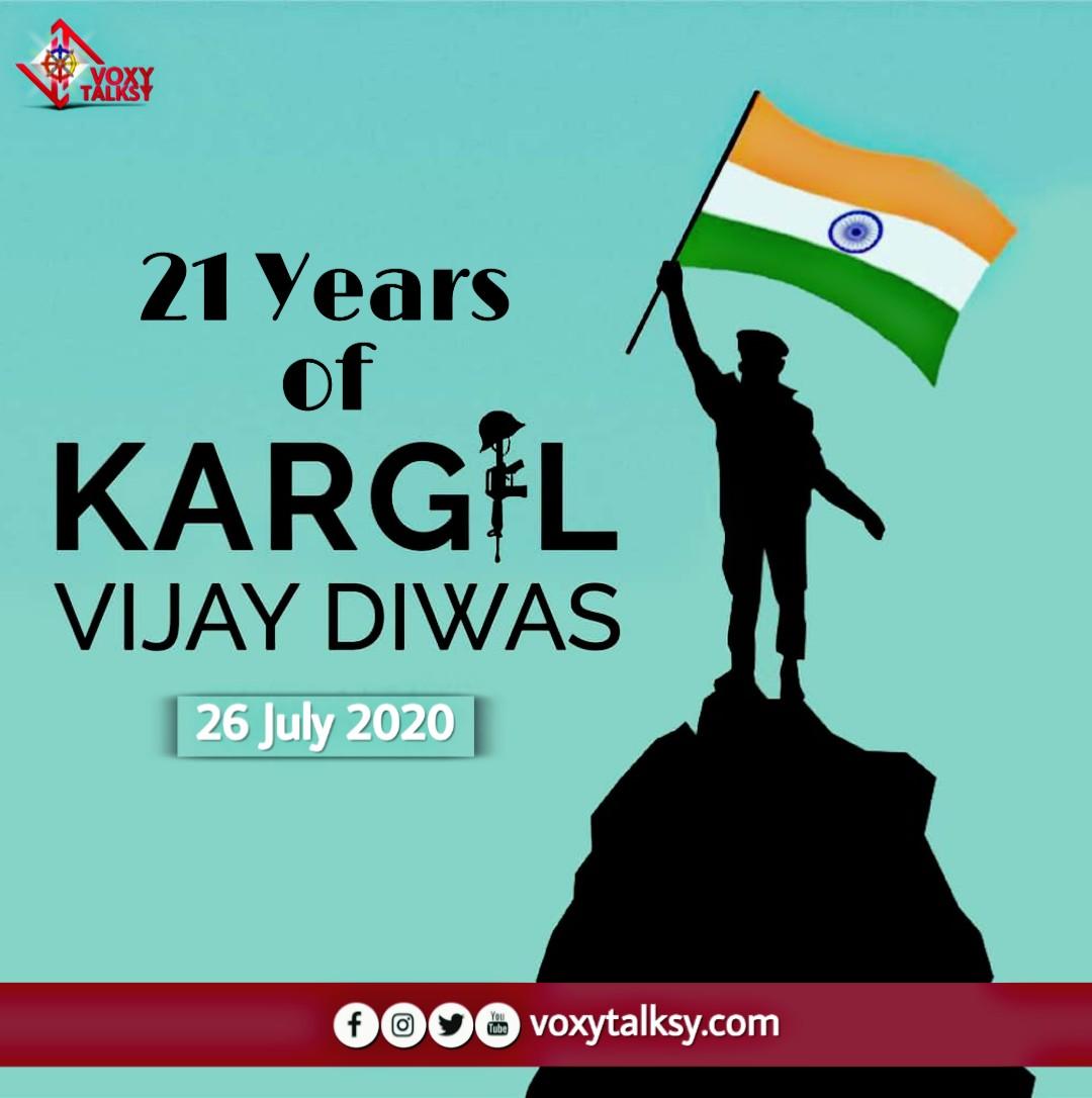 21st Anniversary of Kargil Vijay Divas | VoxyTalksy
