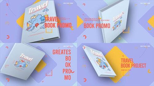 Travel Book Promo 33612995 - Project for After Effects (Videohive)