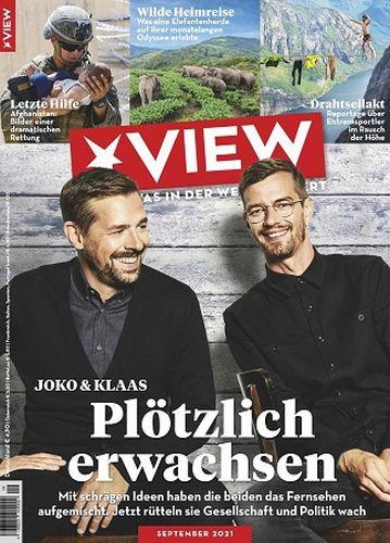 Cover: Der Stern View Magazin No 09 September 2021