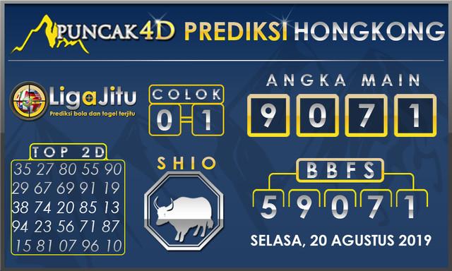 PREDIKSI TOGEL HONGKONG PUNCAK4D 20 AGUSTUS 2019