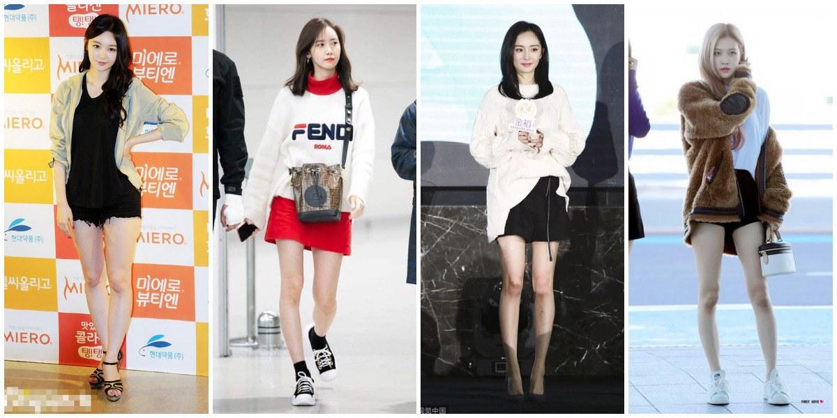 9 nữ idol có đôi chân xấu nhất Kpop: Có cả Jisoo, Irene và Suzy
