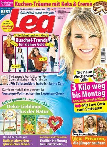 Cover: Lea Frauenmagazin No 41 vom 06  Oktober 2021