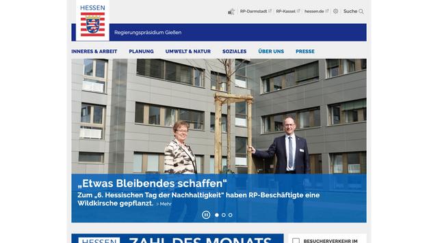 Webseite rp-giessen.hessen.de
