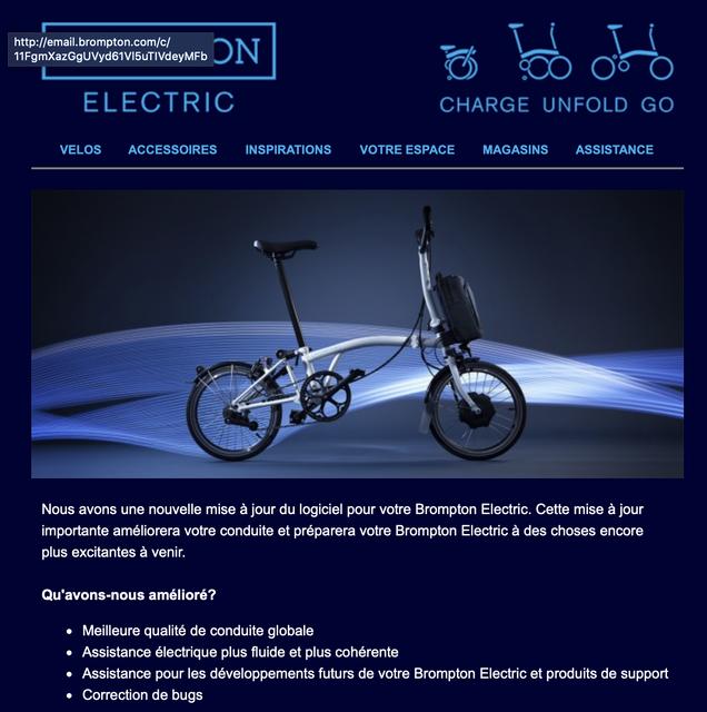 Support solide et fiable Fransande B/équille de v/élo Brompton en aluminium