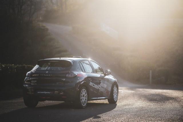 La 208 Rally Cup Fait Ses Débuts Au Mont-Blanc Avec La Nouvelle 208 Rally 4 ! 5-2