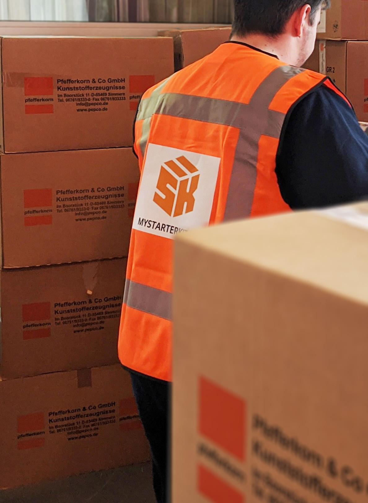 starter kit delivery