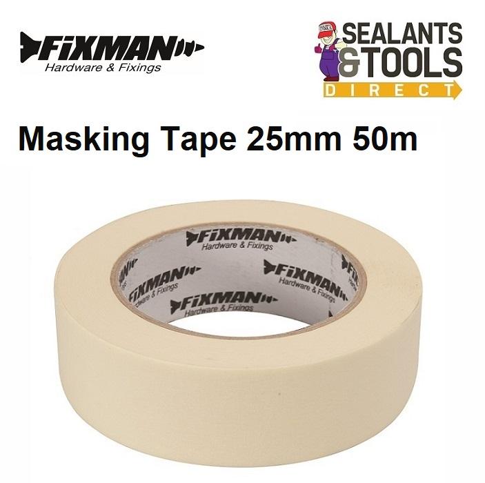 Fixman Masking Tape 25mm x 50m 192532