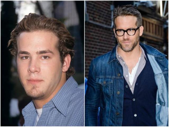 Ryan Reynolds antes y ahora