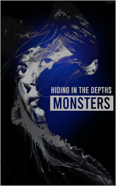 unusual world • chataigna Monsters-hiding