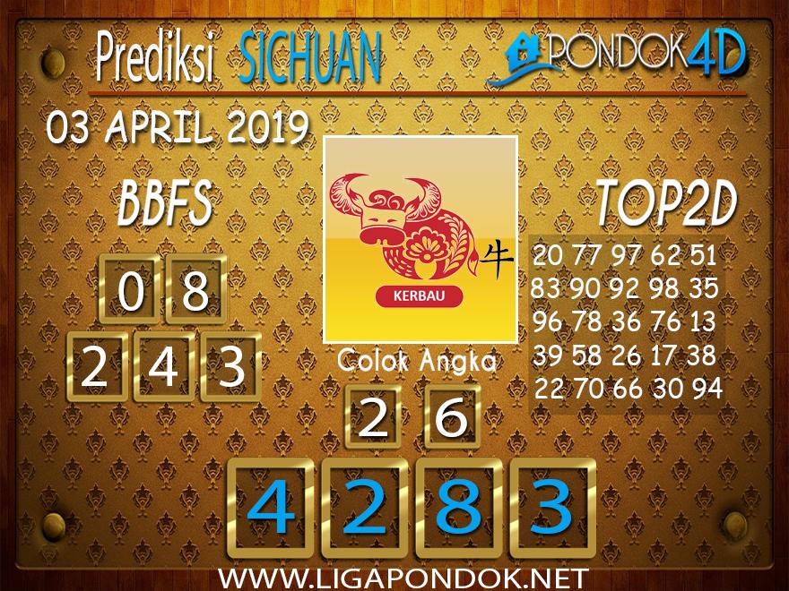 Prediksi Togel SICHUAN PONDOK4D 03 APRIL 2019