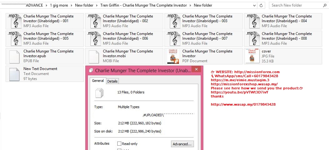 Tren Griffin - Charlie Munger The Complete Investor