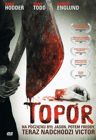 Topór / Hatchet (2006) PL.AC3.DVDRip.XviD-GR4PE | Lektor PL