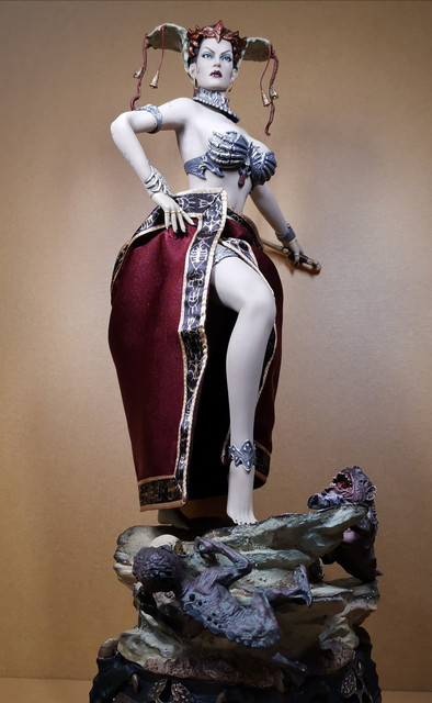 sideshow - NEW PRODUCT: Tbleague x SIDESHOW New: 1/6 Court of the Dead: Gethsemoni The Dead Queen action figure (PL2019-147) 29