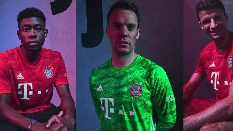 Seperti Chelsea, Jersi Baru Bayern Juga Terinspirasi Stadion Sendiri