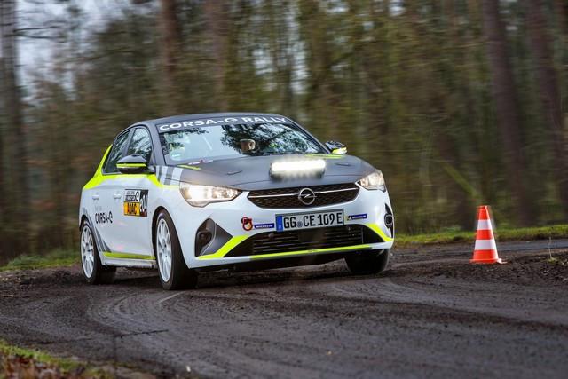Le calendrier de l'ADAC Opel e-Rally Cup est fixé Opel-Corsa-e-Rally-513854