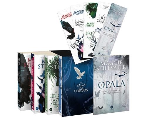 """@Verus_Editora lança em julho Box de """"A Saga dos Corvos"""" com marcadores e um conto inédito"""