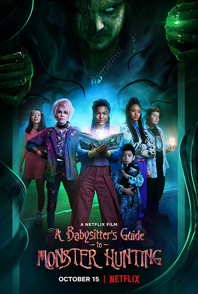 A Babysitter's Guide to Monster Hunting 2020 Hindi ORG Dual Audio 720p NF HDRip ESubs 1GB | 350MB Download