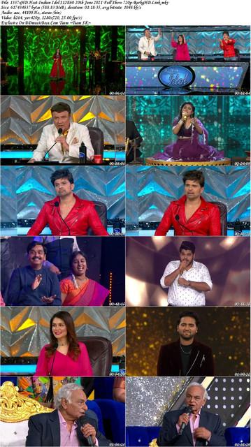 1337x-HD-Host-Indian-Idol-S12-E60-20th-June-2021-Full-Show-720p-Rarbg-HD-Link-s