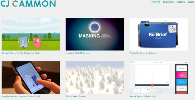 CJ Gammon Website