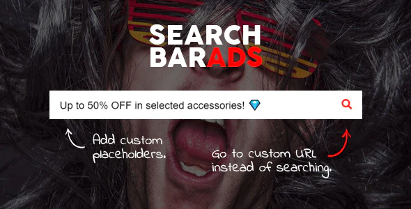 CodeCanyon - Search Bar Ads v1.0.0 - WooCommerce Plugin - 24064465
