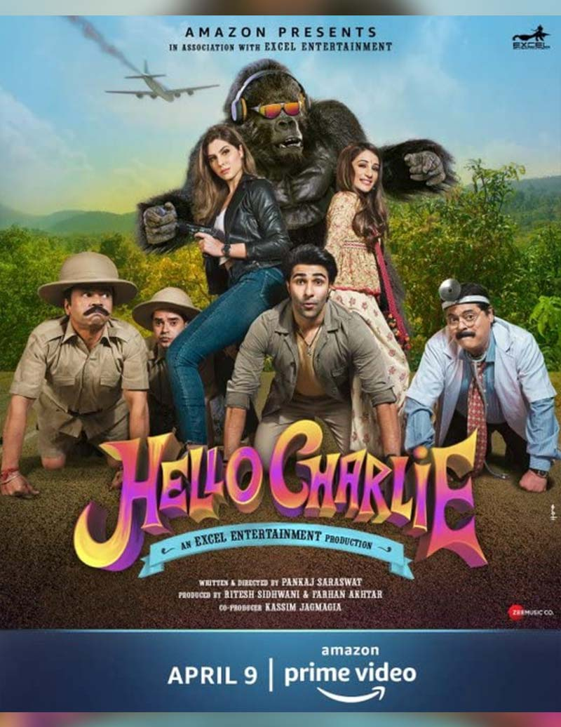 Hello Charlie (2021) Hindi 480p HDRip x264 AAC 300MB ESub