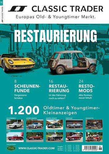 Cover: Classic Trader Magazin Oldtimer und Youngtimer No 06 2021