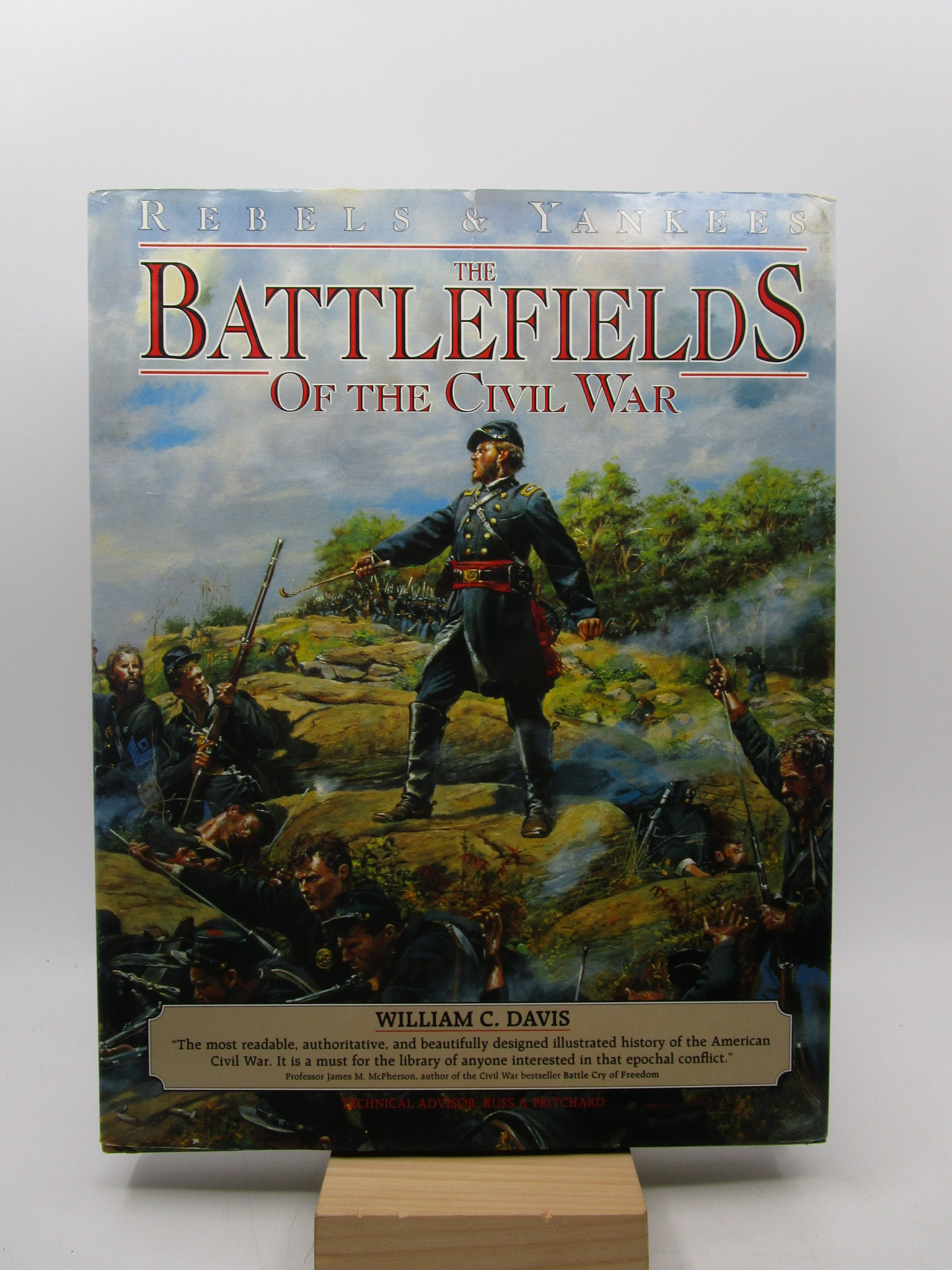 Image for Rebels and Yankees: Battlefields of the Civil War