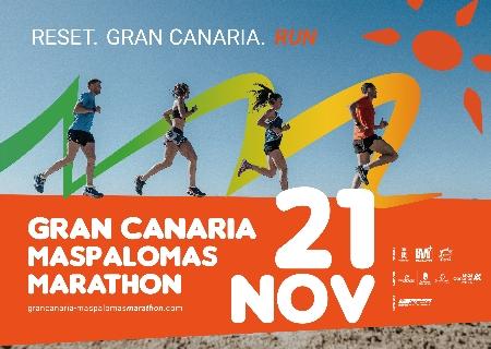 El 21 de Noviembre llega la Gran Canaria- Maspalomas Marathon: la Maratón más austral de Europa