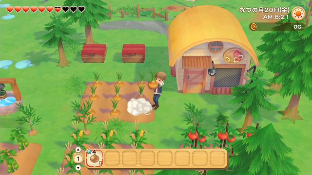 「牧場物語」系列首次在Nintendo SwitchTM平台推出全新製作的作品!  『牧場物語 橄欖鎮與希望的大地』 於今日2月25日(四)發售 021