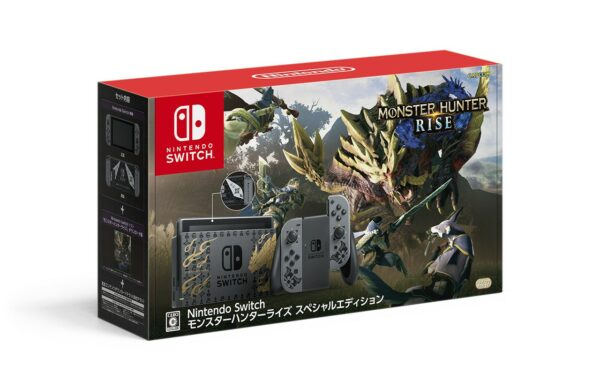 "Switch Monster Hunter Rise特別版""和"" Switch 特別設計的Pro控制器於3月26日與遊戲一同發布。 MH-Rise-Switch-Japan-01-26-21-001-600x388"