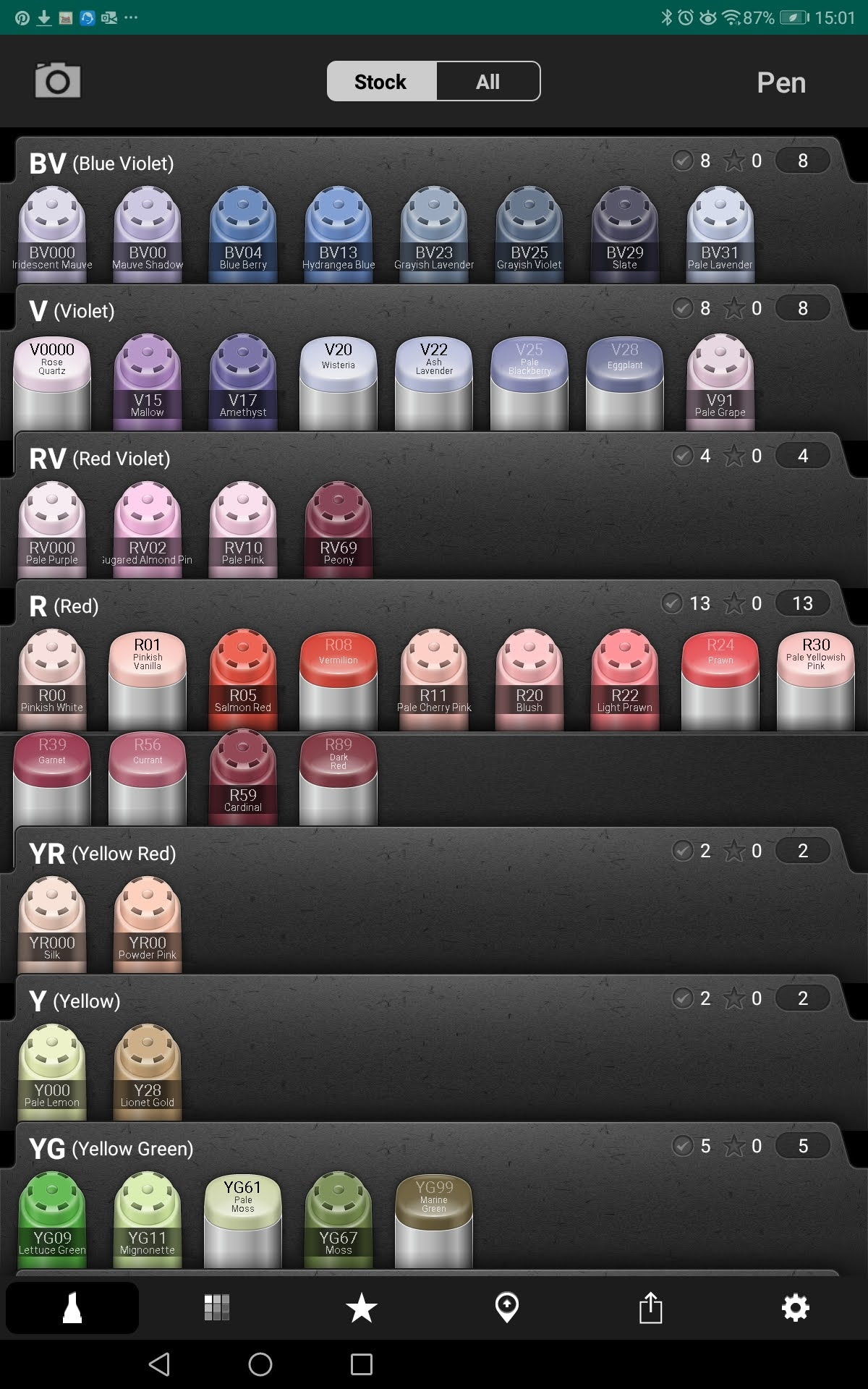 Copic Collection Screenshot 003