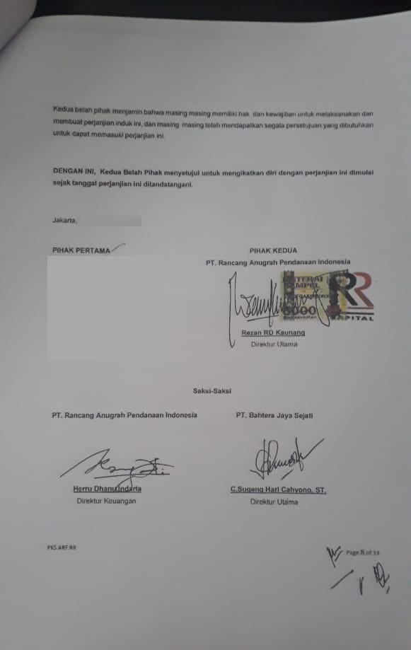 Kasus Penipuan RR Capital Rezan Kaunang Herru Dhanu Indarta 1