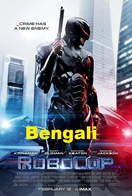 RoboCop (2020) Bengali Dubbed 720p Blu-Ray 700MB Download