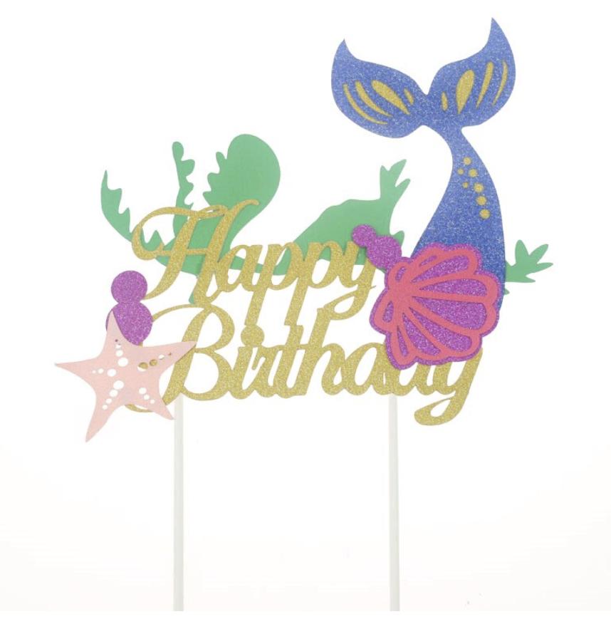 Starfish Cake Topper Cake Topper Smash Cake Topper Birthday Cake Topper 1st Birthday Decor Personalized Topper Beach Cake Topper
