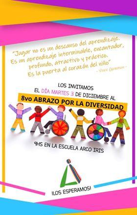 Escuela Nº 13 Arco Iris: 8º abrazo por la diversidad