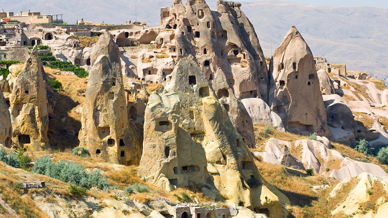 قرية جافوشين و البراكين
