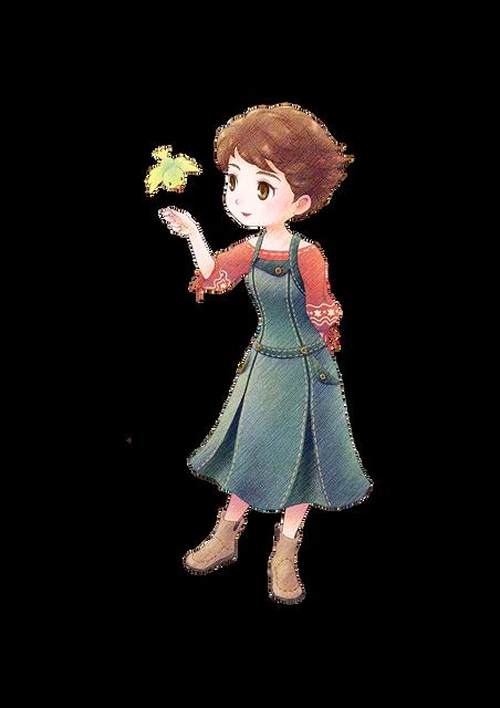 「牧場物語」系列首次在Nintendo Switch™平台推出全新製作的作品! 『牧場物語 橄欖鎮與希望的大地』 決定於2021年2月25日(四)發售! C06