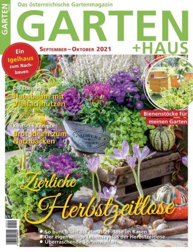 Cover: Garten + Haus Magazin No 10 2021