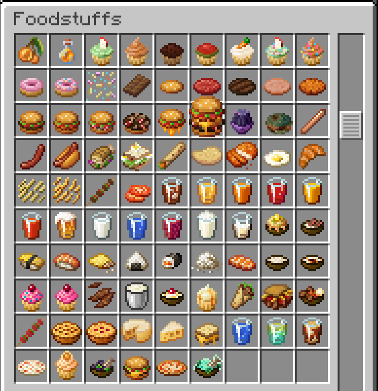 All food items