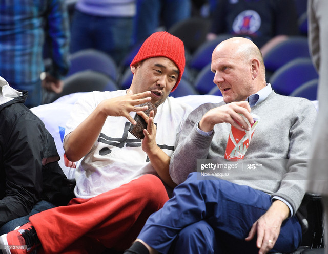 LOS-ANGELES-CA-MARCH-11-David-Choe-L-and-Steve-Ballmer-attend-a-basketball-game-between-the-New-York.jpg