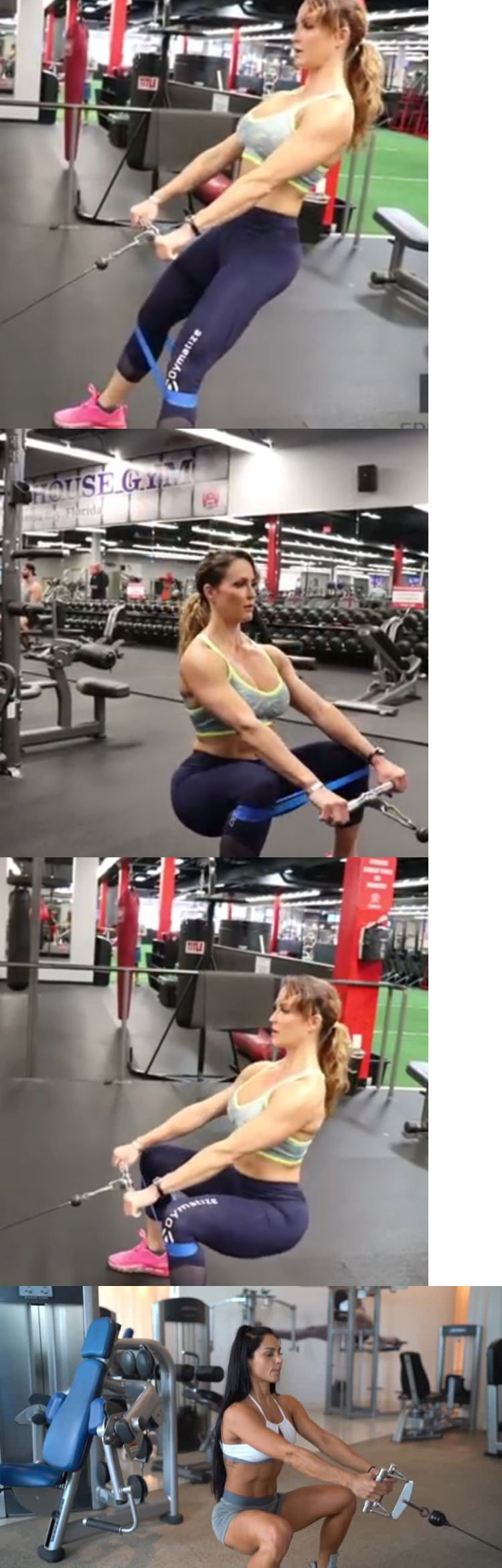5 Best Cable Squats machine bodybuilding with rope