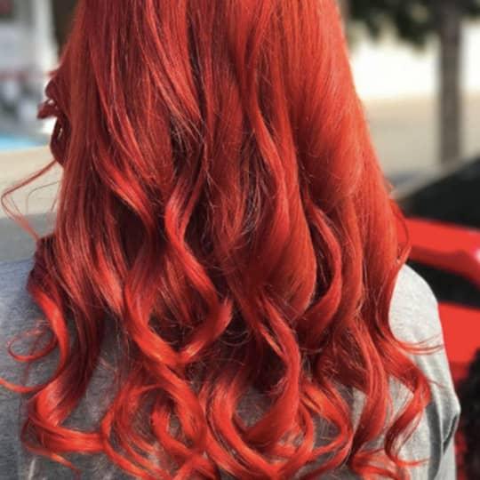 crimson -hair-color