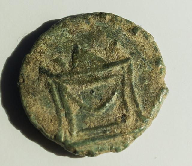 Radiado póstumo de Claudio II. CONSECRATIO. Altar Visi-1