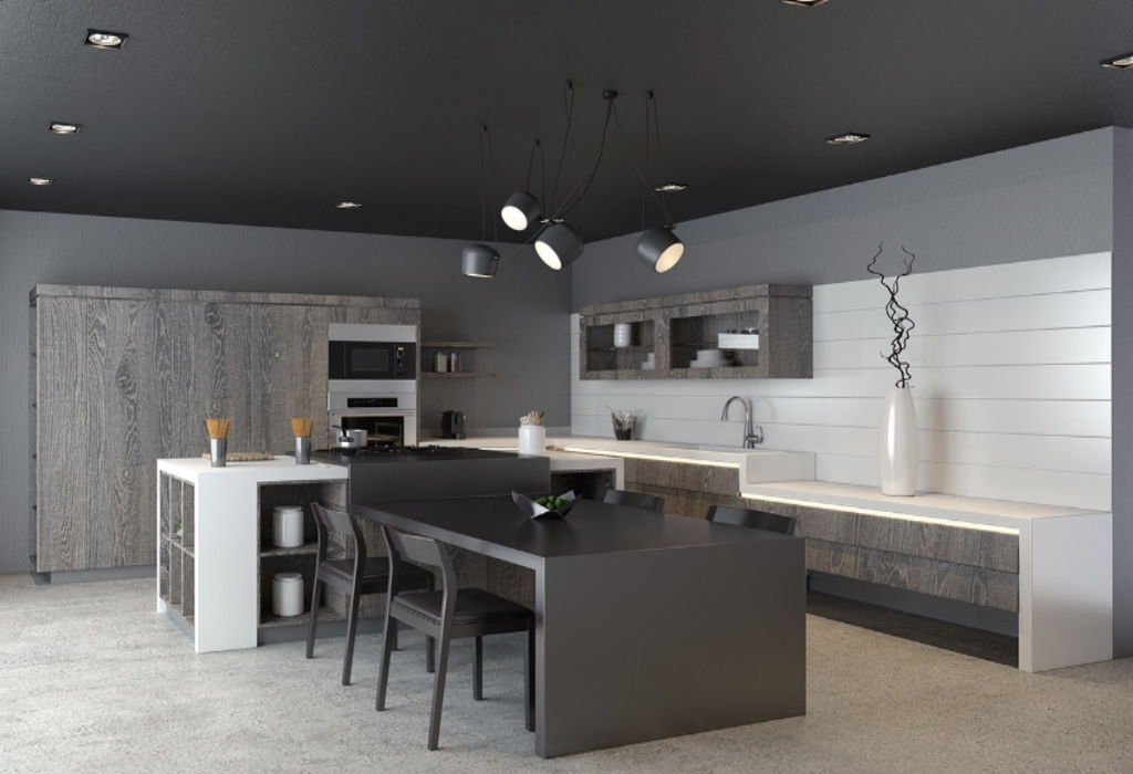 The  For Kitchen Design Interior Exposed
